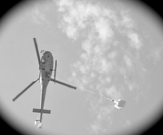 Levage en hélicoptère